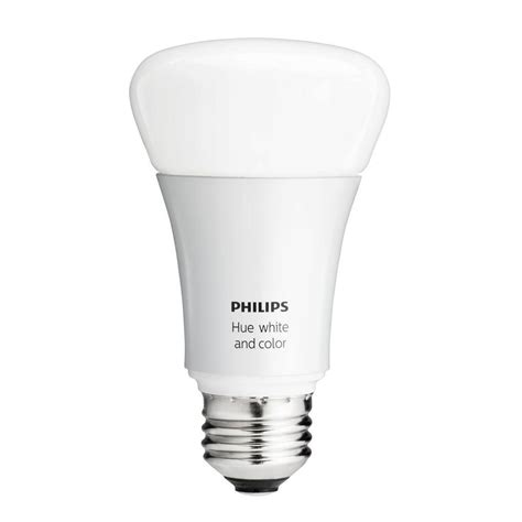 philips hue 60w equivalence white and color ambiance a19