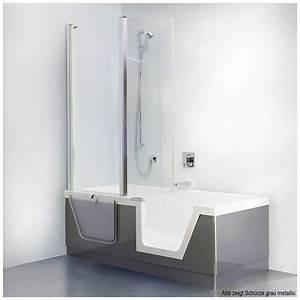 Duschwand Badewanne 160 : duscholux step in pure badewanne 160 x 75 cm 608301100001 ~ Lizthompson.info Haus und Dekorationen