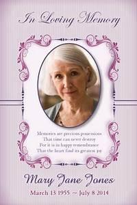 in memoriam cards template - in memoriam cards template 16 obituary card templates free