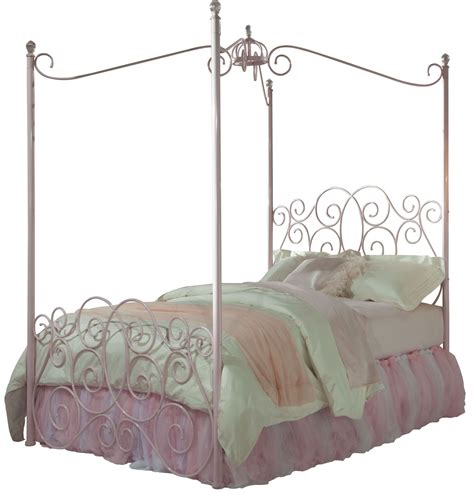 wrought iron princess canopy bed princess pink metal canopy bed from standard