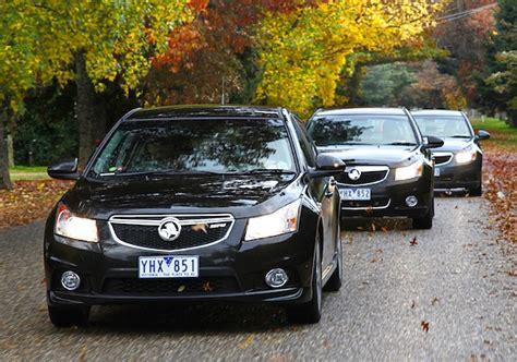 Holden Cruze Leads Passenger Cars