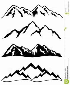 Snow Mountain Clipart Clip art of Mountain Clipart #1910 ...