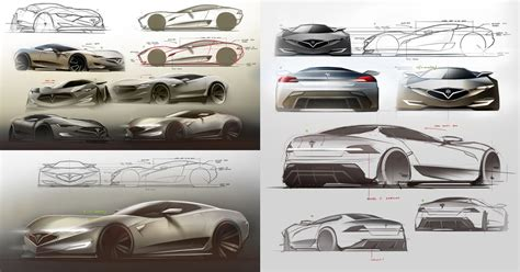 tesla model  hypercar concept design sketches carwow