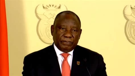 Fellow south africans, when i last addressed the nation, at the beginning of this month, the country the wearing of masks in public places is still mandatory, and failure to wear a mask when required remains a criminal offence. Ramaphosa Speech - Risk factors: 9 major takeaways from ...