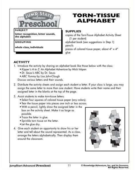 torn tissue alphabet preschool reading activity jumpstart 650 | torn tissue alphabet
