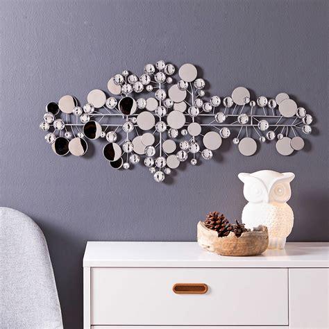 wanddeko metall silber wanddeko 95 x 43 cm ruben metall silber g 252 nstig bei daheim de ideen schlafzimmer in 2019