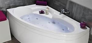 Baignoire D Angle Asymétrique : baignoire d 39 angle baln o baignoire droite spa ~ Dailycaller-alerts.com Idées de Décoration
