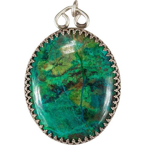 natural turquoise stone large rare natural turquoise stone pendant sterling silver