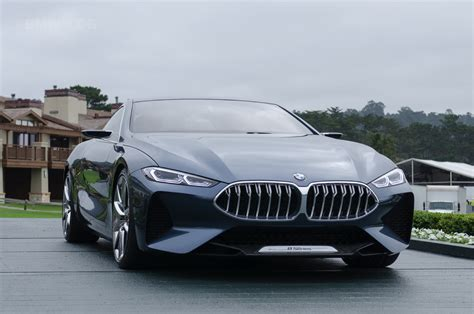 bmw concept bmw concept 8 series introduced at pebble beach
