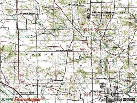 jacksonburg ohio oh 45042 45067 profile population