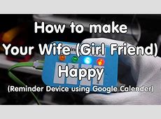 #185 ESP8266 Google Calendar Reminder How To Make Your