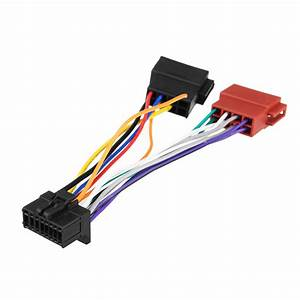 Car Stereo Radio Iso Wiring Harness Connector 16