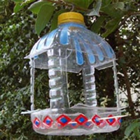 bird feeder   plastic milk bottle