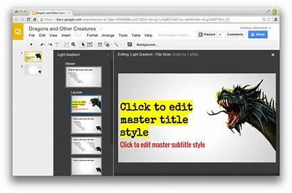 Slides Google Transparent Powerpoint Technology Presentazione Creare