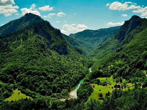 Summer Landscape Mount Durmitor Montenegro Desktop Hd ...