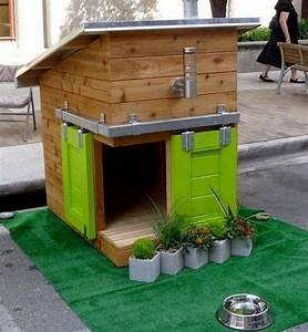 7 dog house ideas woodz for 2 dog dog houses