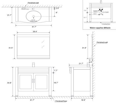 double sink vanity sizes standard bathroom vanity dimensions best home design 2018