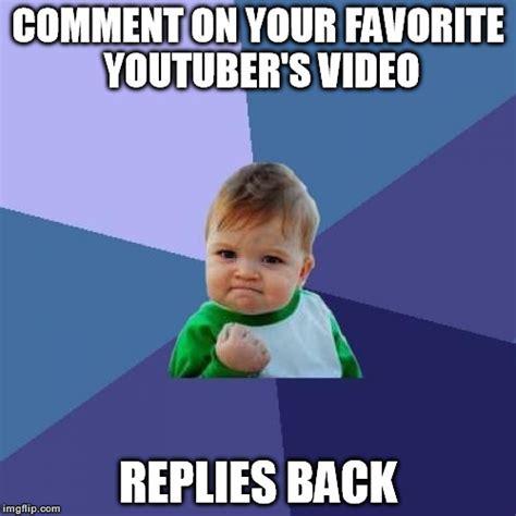 Picture Comment Memes - success kid meme imgflip