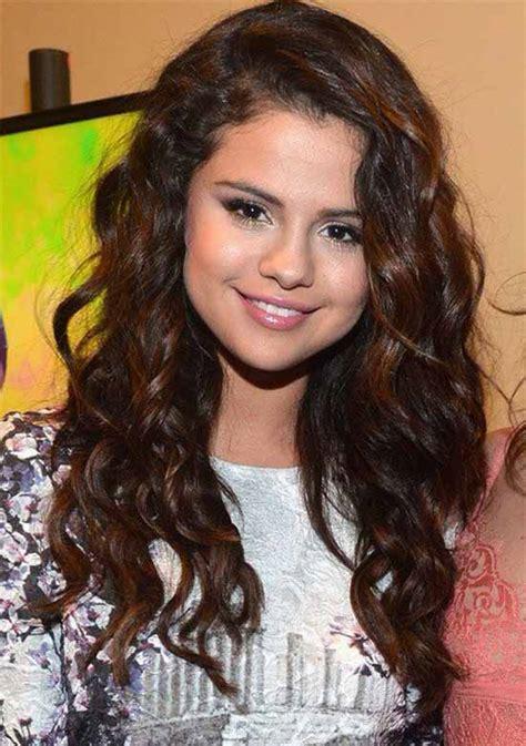 Selena Gomez Short Curly Hair With Bangs   www.imgkid.com