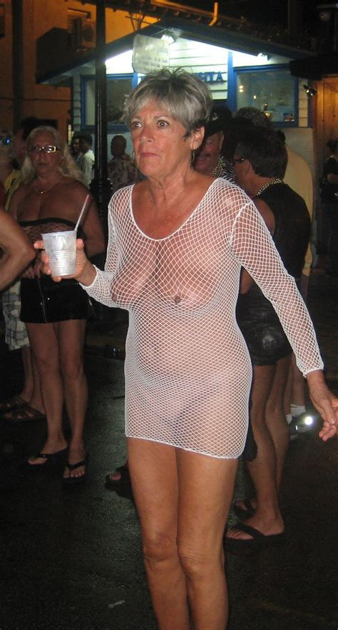 saggy Grannies proudly wearing see thru -11 - PornHugo.Com