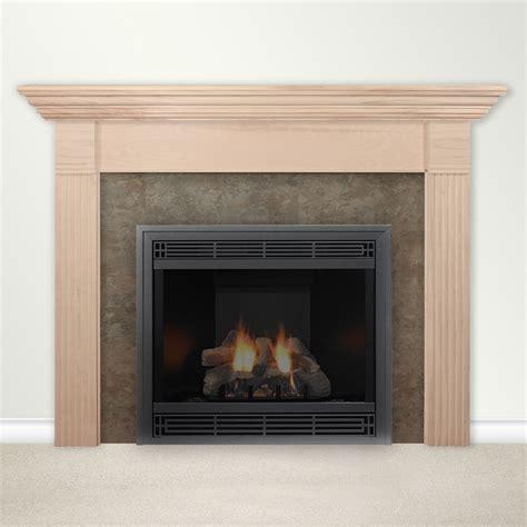 housewarmer fireplace mantel surround  shelf ebay