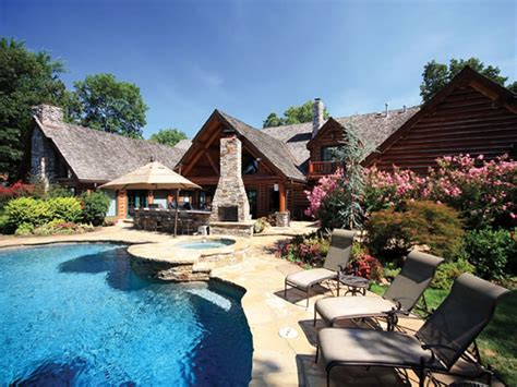 million dollar homes million dollar log cabin homes log home mansions treesranchcom