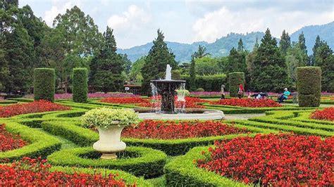 berlibur  taman bunga nusantara abigail rental