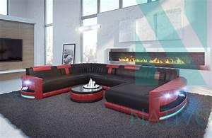 Sofa U Form Klein : edles ledersofa atlantis xxl bei nativo m bel schweiz g nstig kaufen ~ Bigdaddyawards.com Haus und Dekorationen
