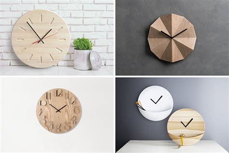 modern home interiors pictures 14 modern wood wall clocks to spruce up any decor