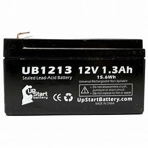 Dewalt Battery Compatibility Chart Werker Wka12 1 3f Battery Ub1213 12v 1 3ah Sealed Lead
