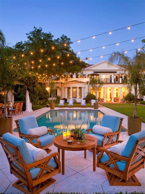 string lights patio lighting globe bulbs backyard ideas