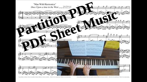 Print and download supercalifragilisticexpialidocious sheet music from mary poppins. Man With Harmonica - Cover Piano (Tutorial + Partition PDF/Piano Score PDF Sheet Music) - YouTube