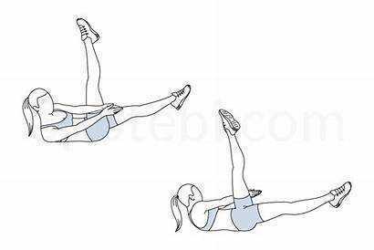 Leg Exercise Crunch Raise Side Abs Spotebi