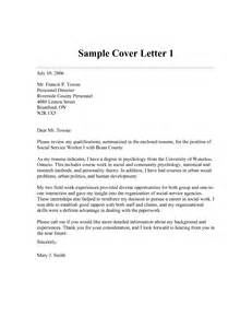 Cover Letters For Social Workers Cover Letter Format Cover Letter Social Work Objective For Resume For Social Worker Cover