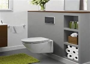 Cuvette Wc Bois : 1000 id es sur le th me toilette suspendu sur pinterest ~ Premium-room.com Idées de Décoration