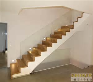 treppen beton glasgeländer für ihre treppe krieger treppen