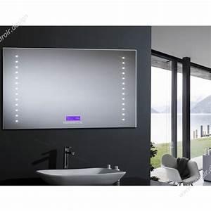 Miroir Salle De Bain Bluetooth : miroir salle de bains castorama maison design ~ Dailycaller-alerts.com Idées de Décoration
