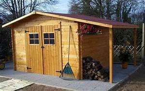 construire son abri de jardin en bois obasinccom With construire son propre abri jardin