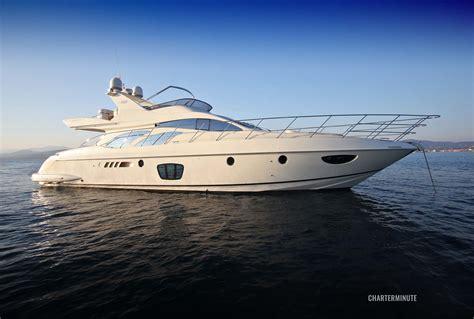 Yacht Boat Rental by Azimut 62 Yacht Charter Cannes St Tropez Monaco Yacht