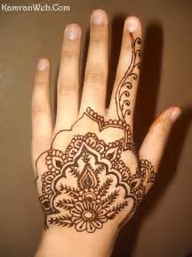 Easy Hand Henna Mehndi Designs