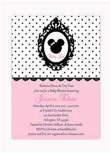 Baby Shower Invitations Minnie Mouse | THERUNTIME.COM