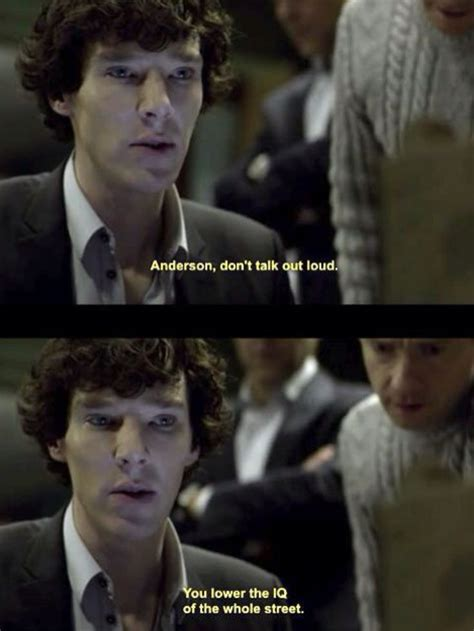 sherlock quotes funny holmes bbc watson john anderson insults annoying someone benedict fandom cumberbatch quote being season humor say ever
