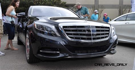 Because there's no divider separating the driver from the. 2015 Mercedes-Maybach S600 27