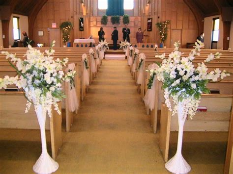 Getting It Right With Church Wedding Decorations Church