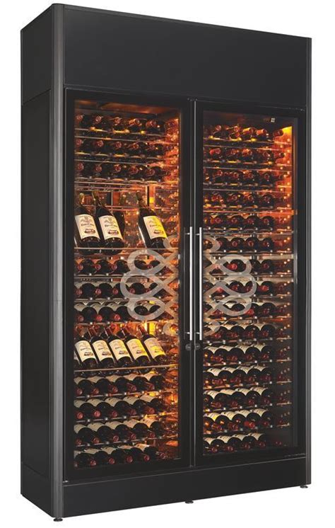 wine caveeurocave professional show cave dual temperature wine cabinet  eurocave