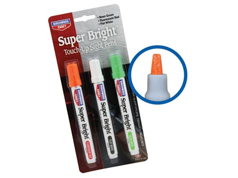 Birchwood Casey Super Bright Touch-up Sight Pens Neon