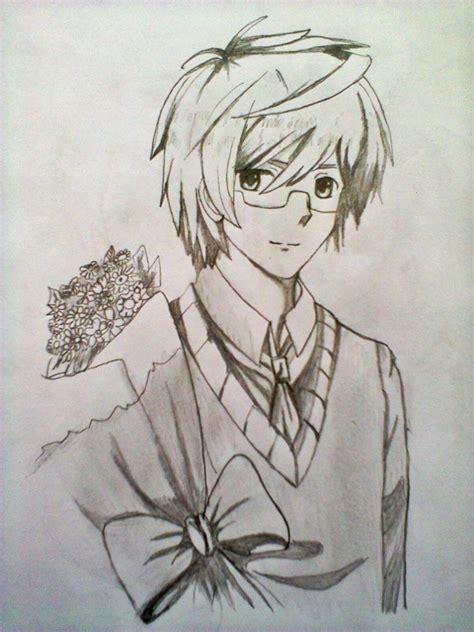 Cool Boy By Xiichan07 On Deviantart Anime Boy Sketch Sketch Anime Boymofashi On Deviantart