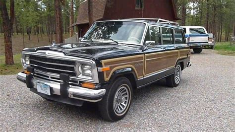 jeep wagoneer 1990 1990 jeep grand wagoneer for sale youtube