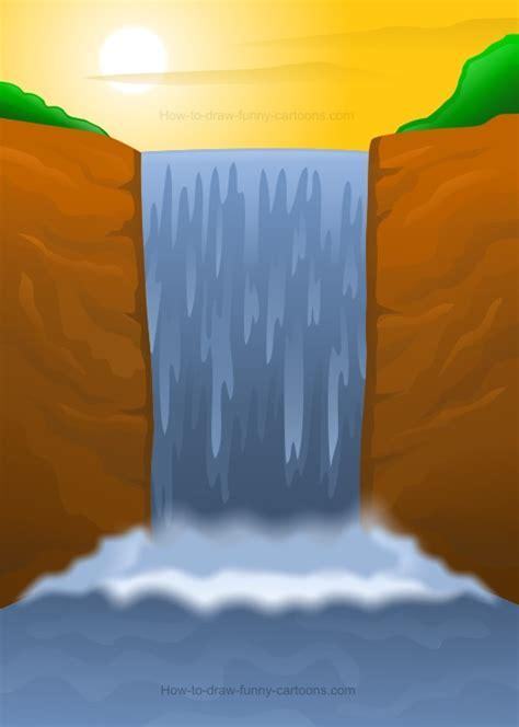 draw  waterfall