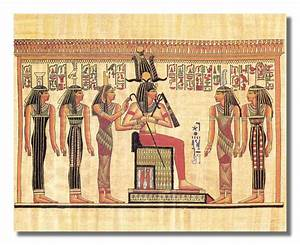 Ancient egyptian wall art